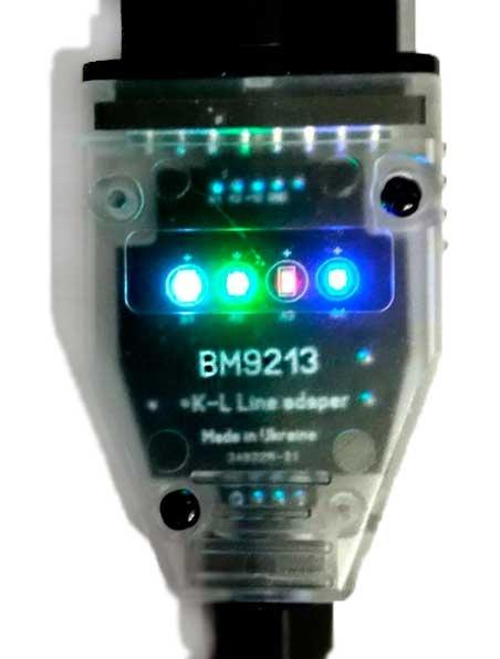 Универсальный USB K-L Line адаптер на FT232BL & L9637D ( Украина) - 2