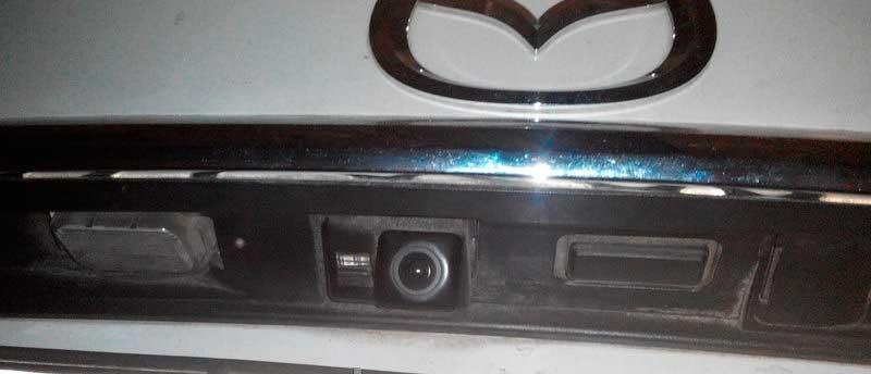 Mazda 3,6, CX7, CX5, SkyActiv 2014 камера заднего вида - 3