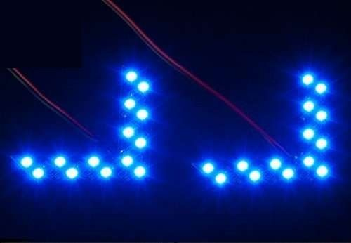 LED указатели поворота в зеркала заднего вида авто - 1