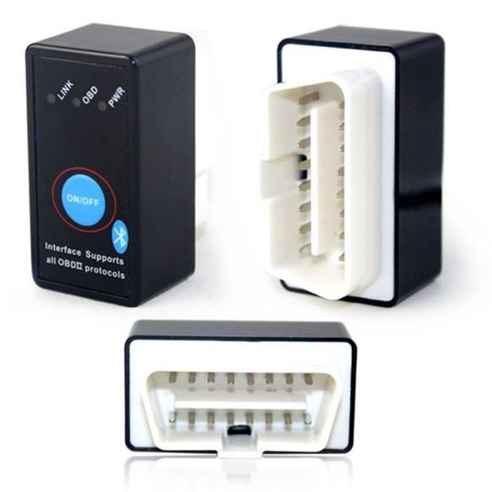 Bluetooth OBD2 ELM 327 с кнопкой адаптер диагностики - 2