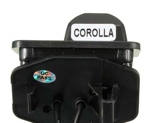 Камера заднего вида для Toyota Corolla 2011/2012/2013 - 6