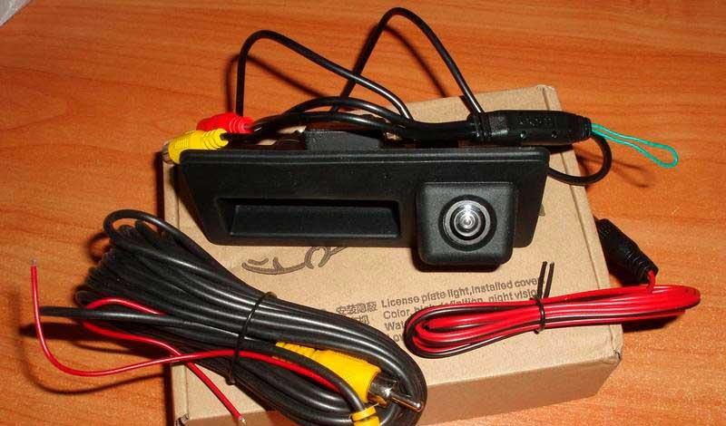 Камера HD night Vision заднего вида штатная (кнопка багажника ) Volkswagen, Porsche - 1