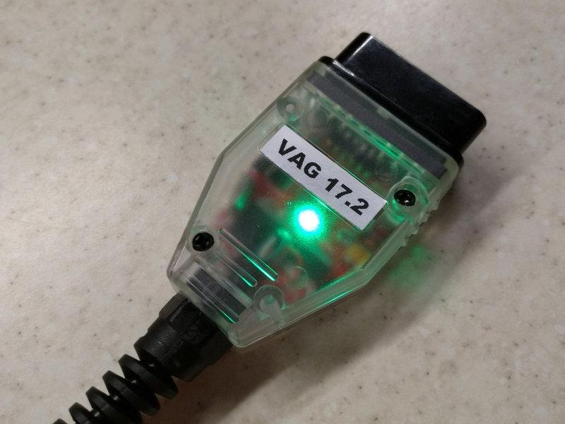 LED USB ВАСЯ диагност VCDS Pro 17.2 на Русском ATMEGA162, 16V8B, FT232RL A+++ - 2