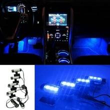 Декоративная 4x3 LED подсветка салона автомобиля - 1