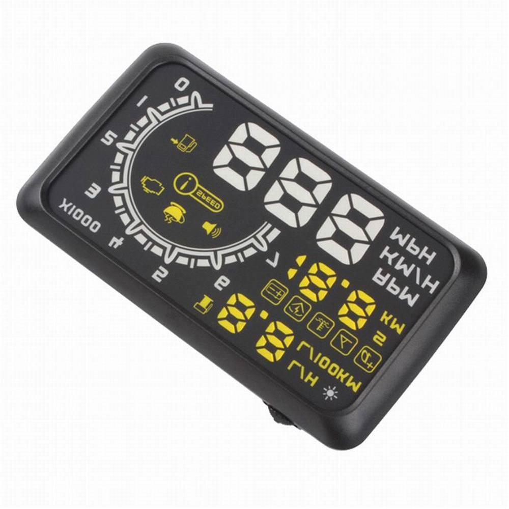 Speedometer OBD II HUD (проектор на лобовое стекло) - 4