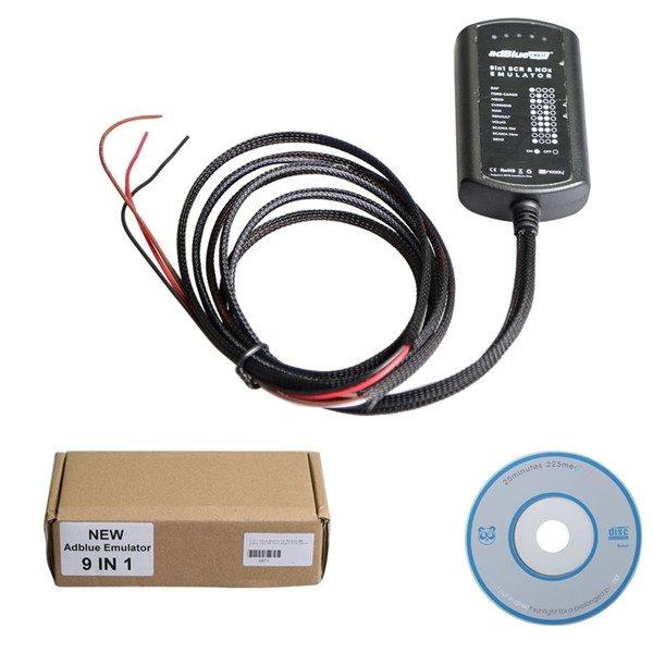 Adblue SCR эмулятор 9-в-1 Nox Sensor (c переключателями ) - 3