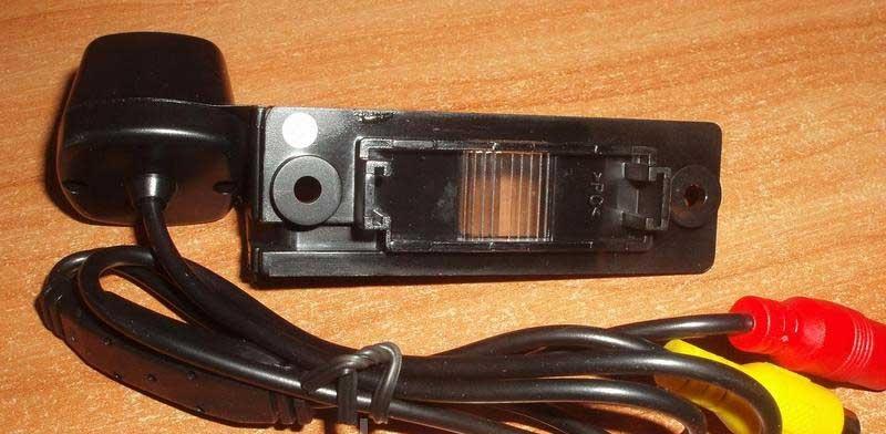 Камера заднего вида CCD под LED подсветку для VW - 4