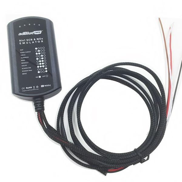 Adblue SCR эмулятор 9-в-1 Nox Sensor (c переключателями ) - 2