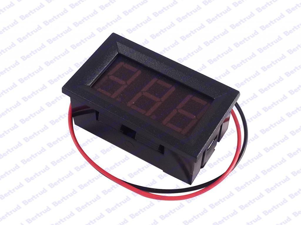 LED цифровой вольтметр постоянного тока - 1