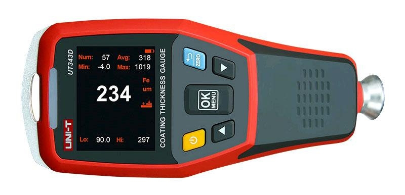 UT343D толщиномер краски - 1