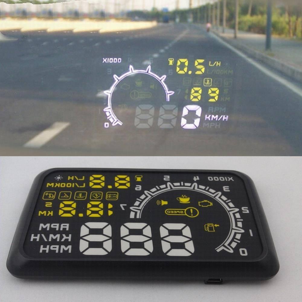 Speedometer OBD II HUD (проектор на лобовое стекло) - 3