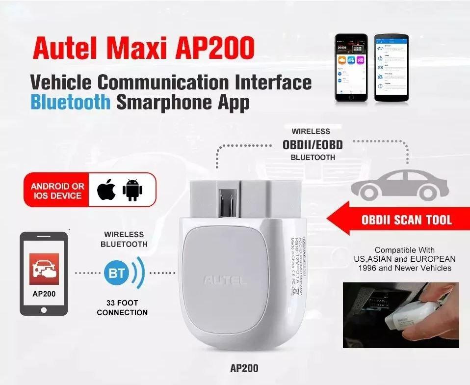 Автосканер Autel AP200 ( Аналог Launch Easy diag ) + Активация!! - 2