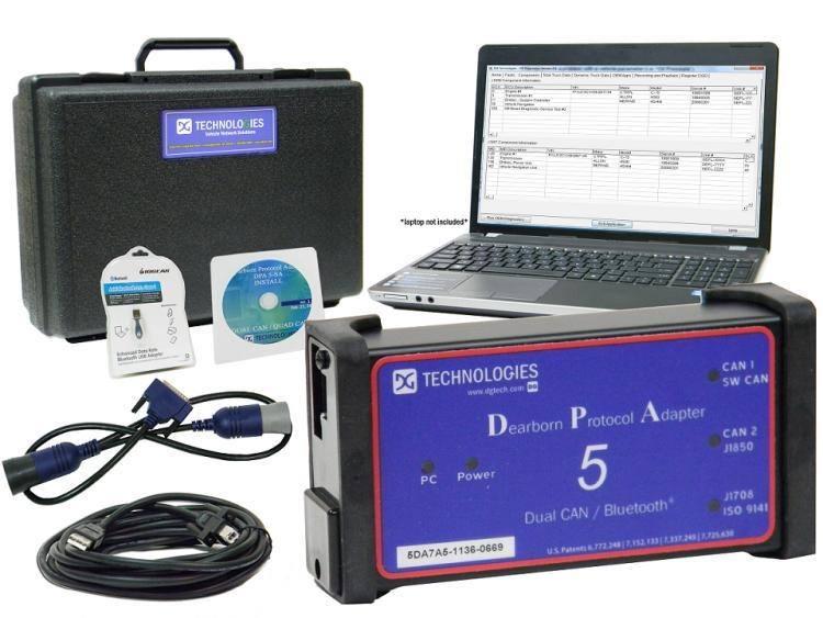 Диагностический сканер DPA 5 Dearborn Protocol Adapter  - 4