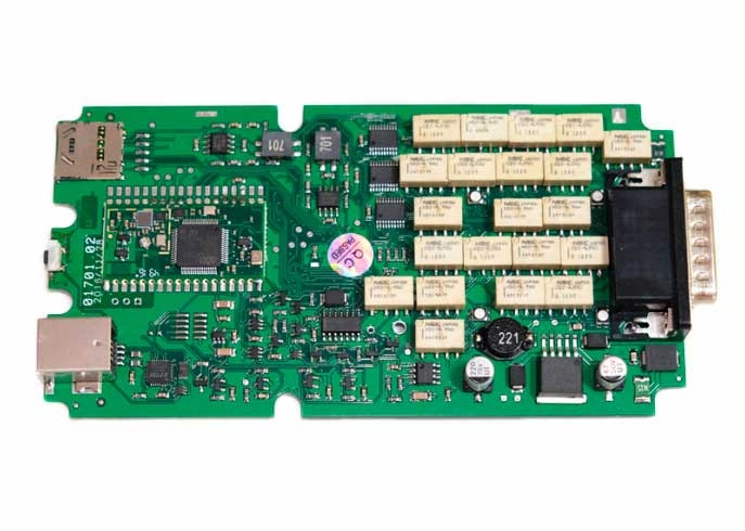 Delphi DS150E  (одноплатный) 15.3 + bluetooth - 1