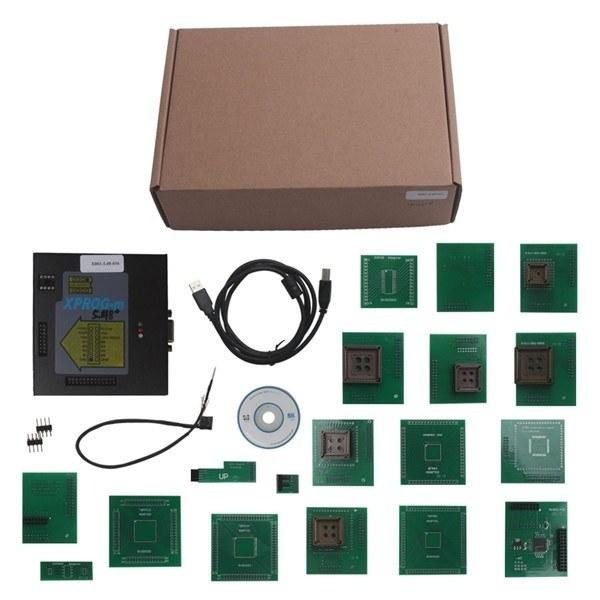 XPROG-M v5.5  (18 адаптеров) - 1