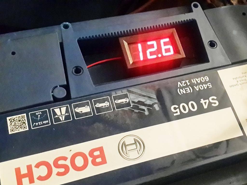LED цифровой вольтметр постоянного тока - 3