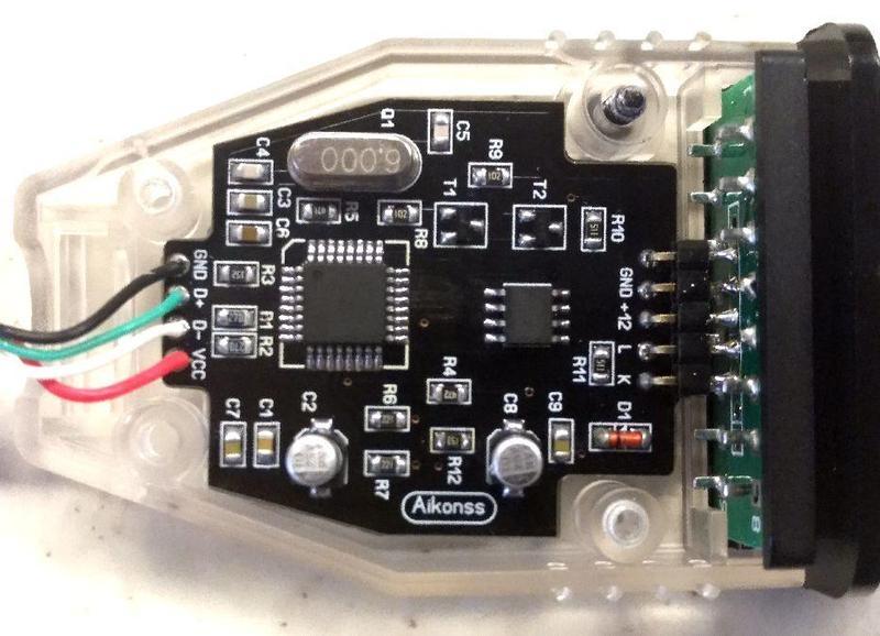 Универсальный USB K-L Line адаптер на FT232BL & L9637D ( Украина) - 1