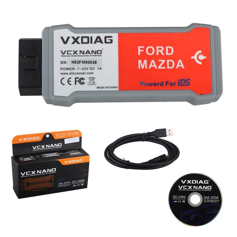 Диллер сканер IDS Ford Mazda AllScanner VXDIAG VCX - 1