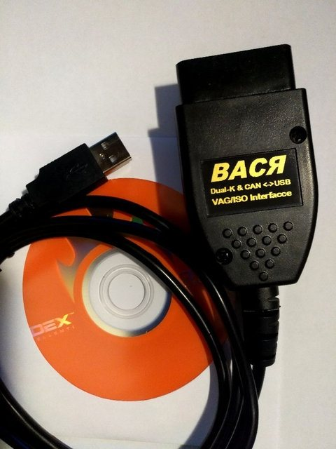ВАСЯ диагност VCDS Pro 16.6 на Русском ATMEGA162 + 16V8B + FT232RL - 1