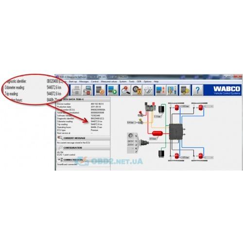 Wabco WDI - Дилерский набор WABCO DIAGNOSTIC KIT - 3