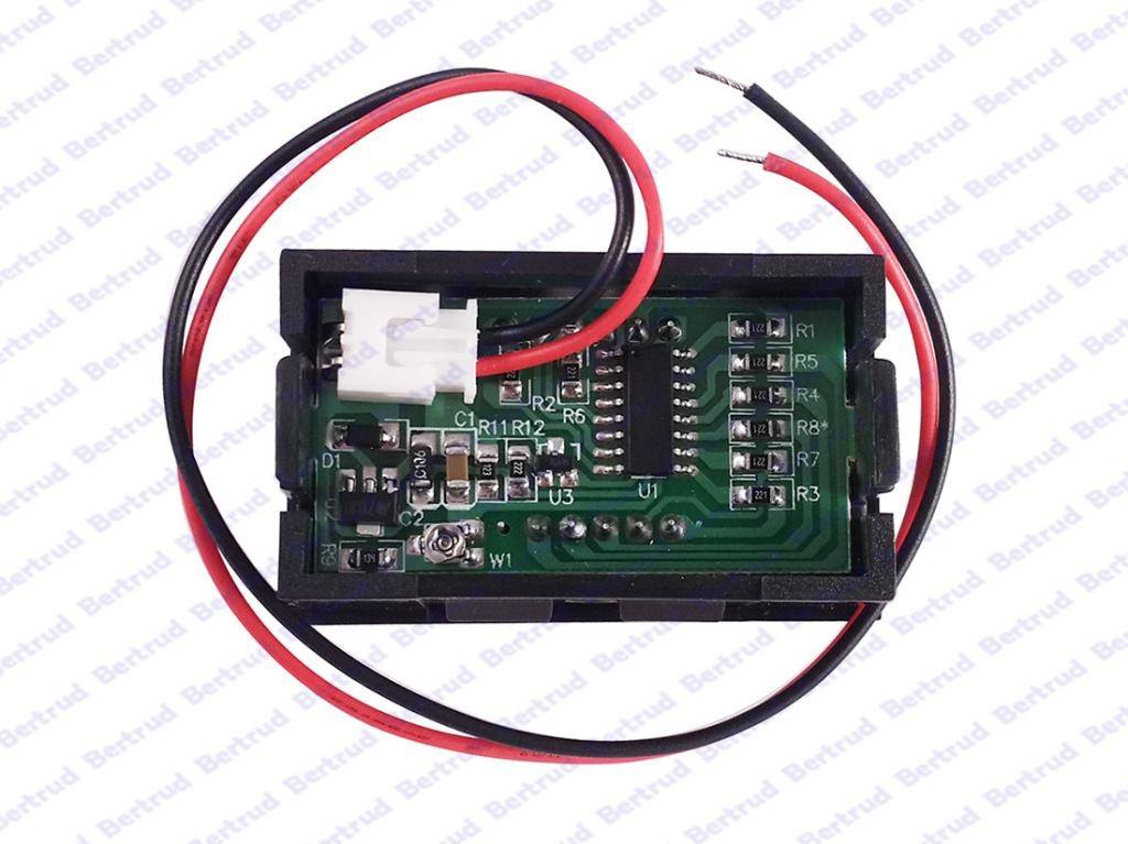 LED цифровой вольтметр постоянного тока - 2
