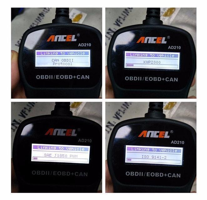 Диагностический автосканер Ancel AD210 на русском языке - 3