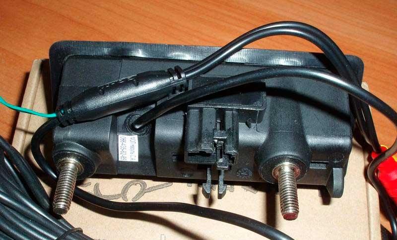 Камера HD night Vision заднего вида штатная (кнопка багажника ) Volkswagen, Porsche - 2