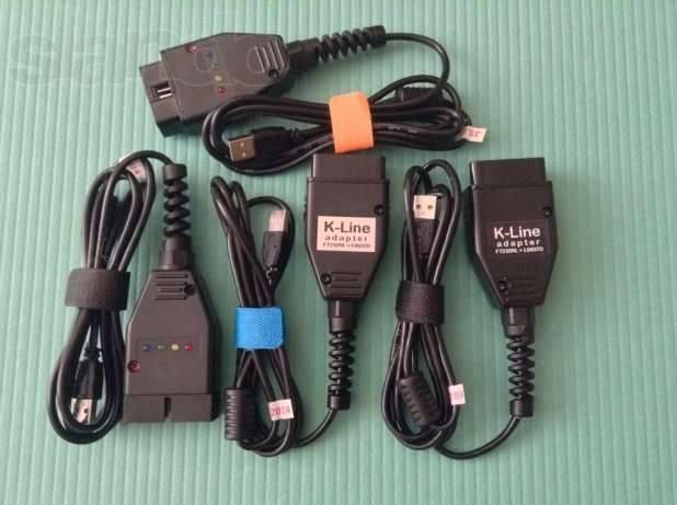 Профессиональный USB K-Line адаптер ( OBD2 ) UA - 1