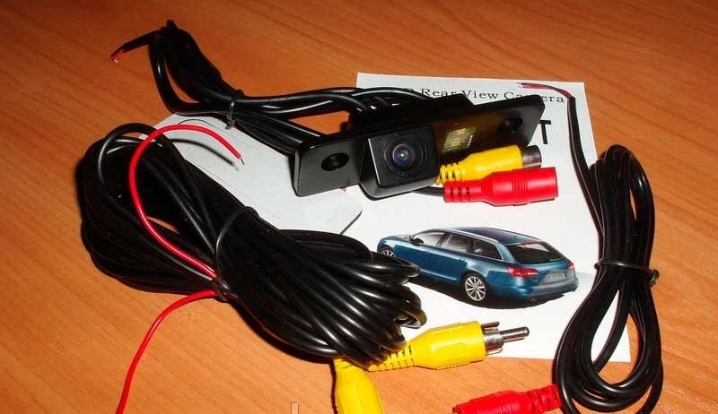 Камера заднего вида для Skoda Octavia (Шкода Октавиа) - 1