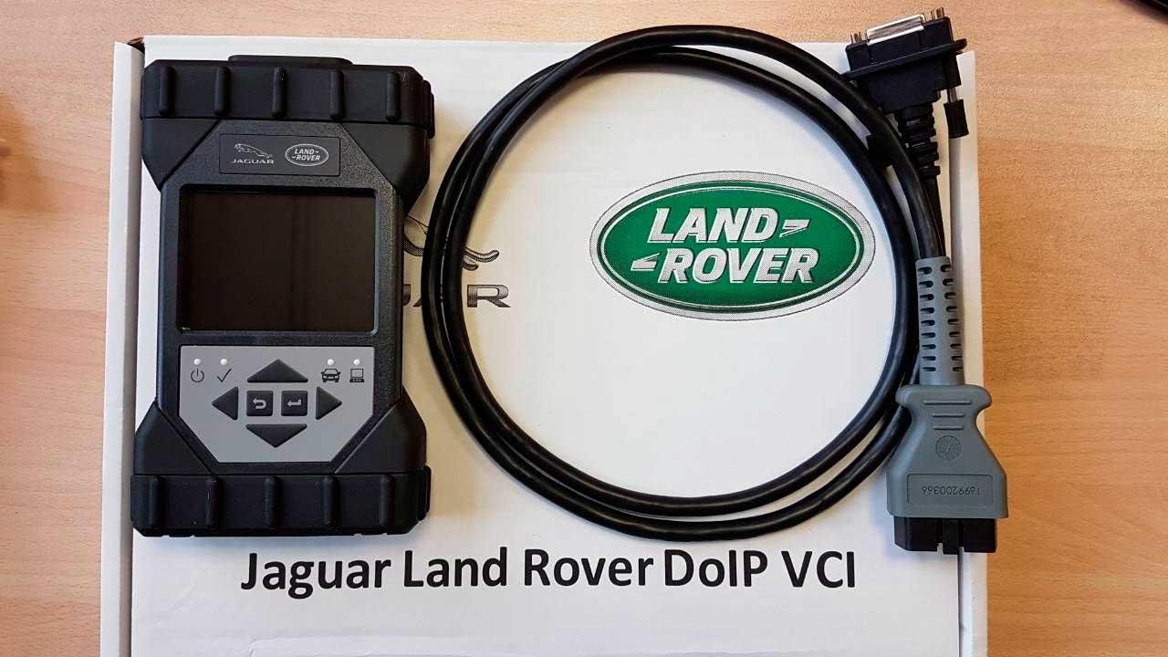 JLR DOIP VCI Wi-Fi - новый дилерский диагностический сканер - 1