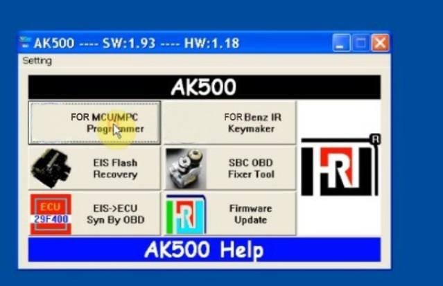 AK500 key programmer - 1
