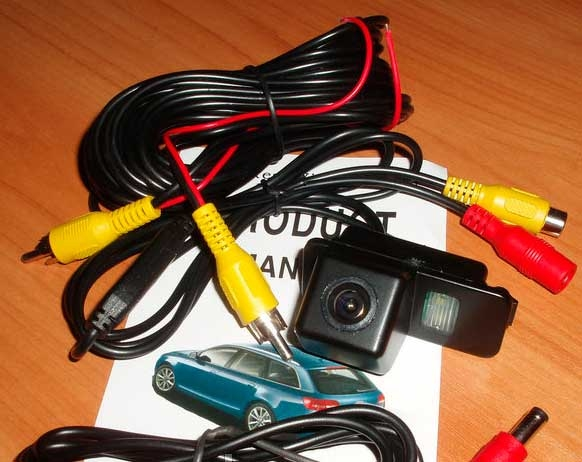 CCD цветная камера заднего вида для Ford - 4