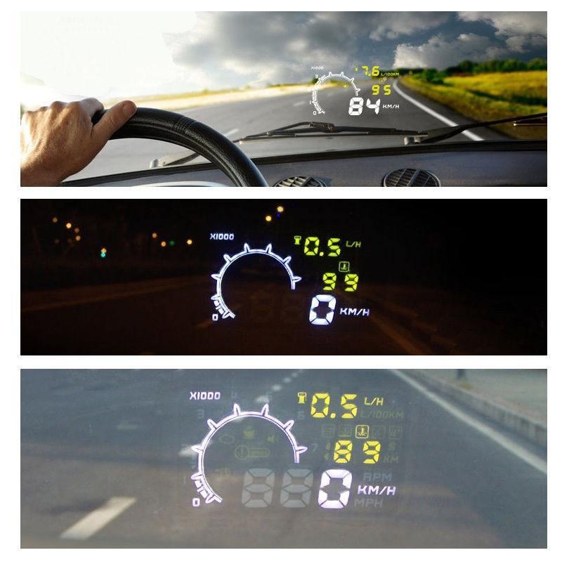 Speedometer OBD II HUD (проектор на лобовое стекло) - 2