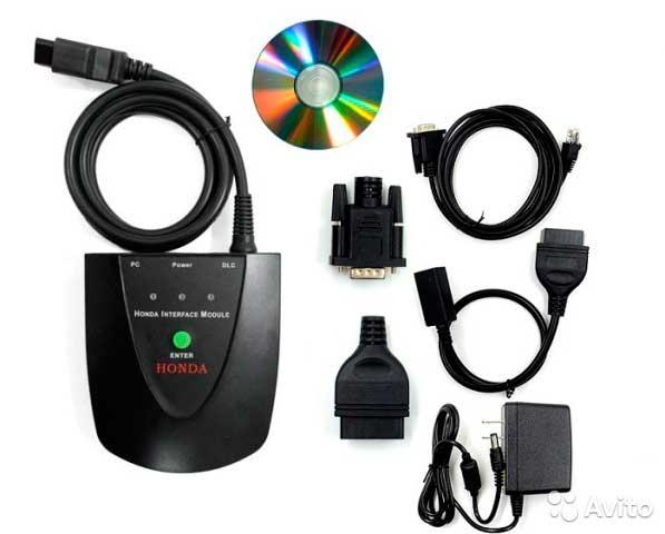 Honda HIM дилерский сканер для ПО HDS - 1
