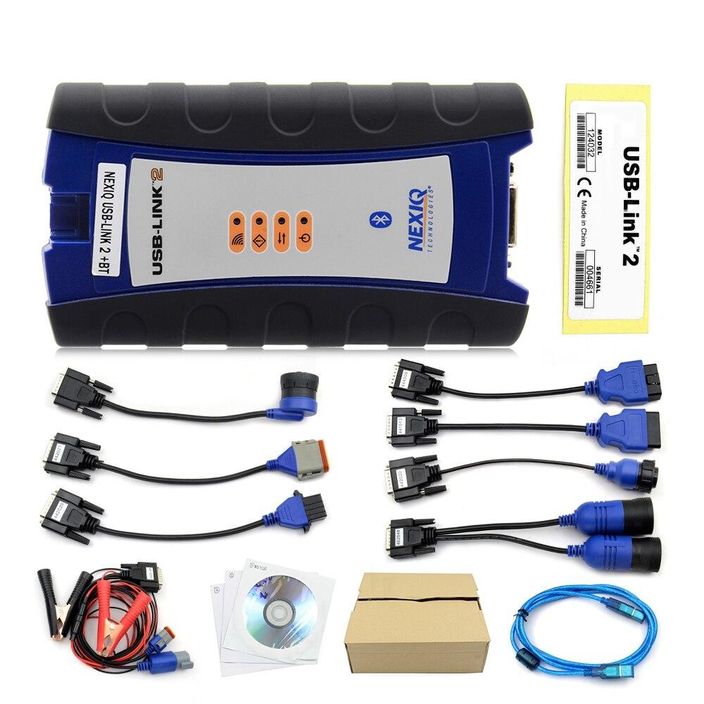 Nexiq USB Link V2. Сканер диагностики грузовых авто Nexiq USB Link - 1