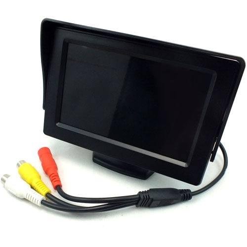 4.3 монитор для подключения камеры заднего вида - 1