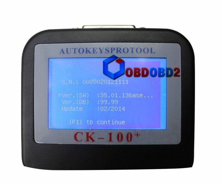 Программатор ключей CK100 CK-100 V99.99 - 4