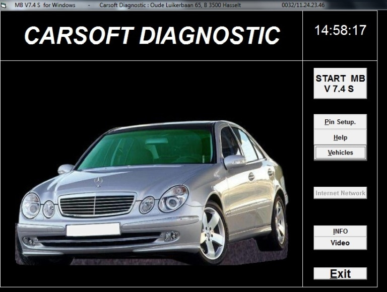 MB carsoft 7.4 - 17571